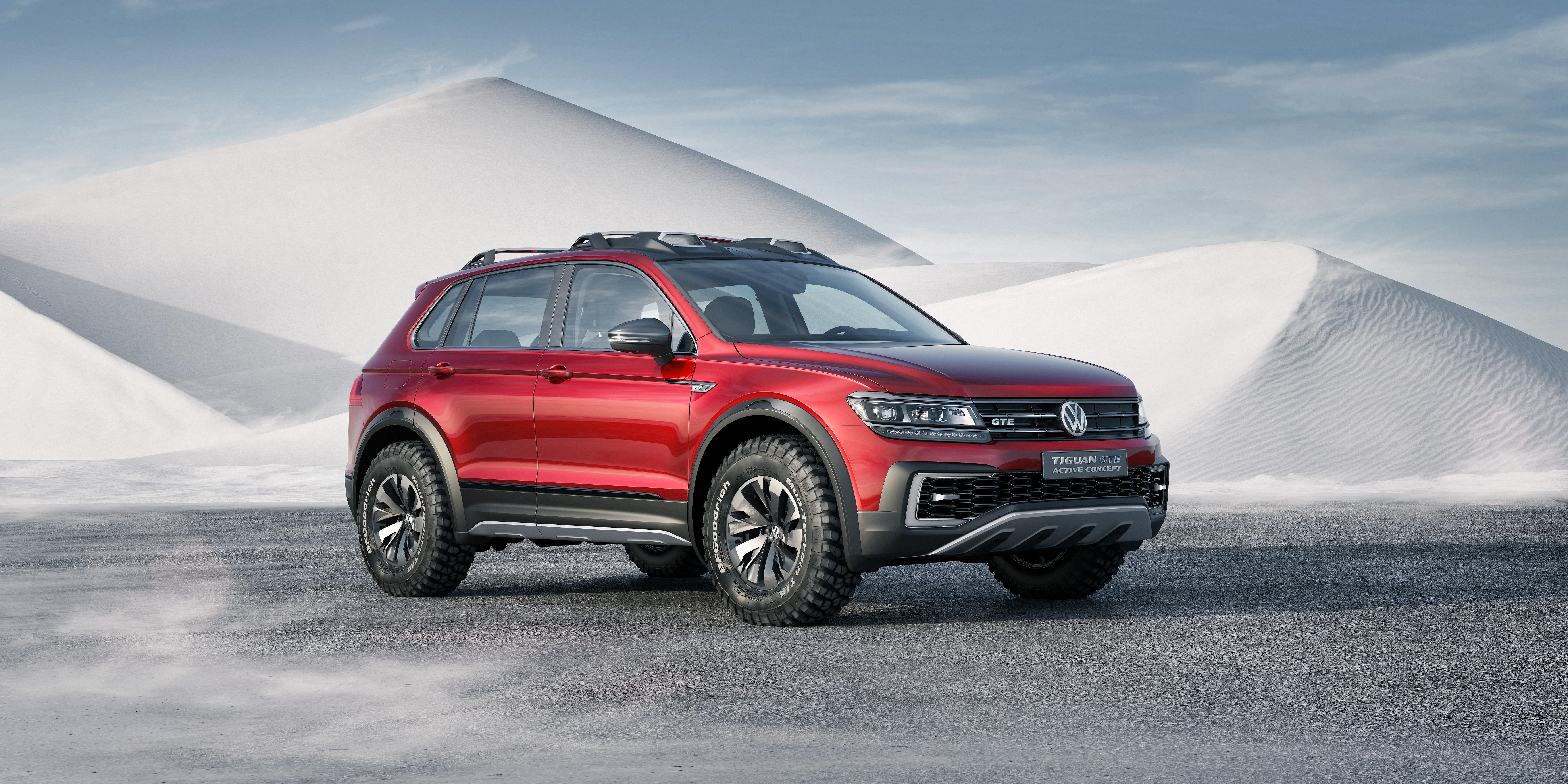 Volkswagen's Tiguan PHEV Concept Reaches 580 Miles