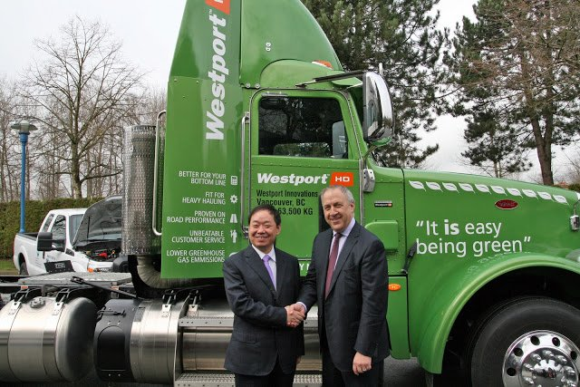 Westport Inks Deal with China's ENN Group