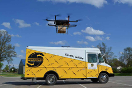 FAA Approves Testing of Workhorse Drone Delivery System