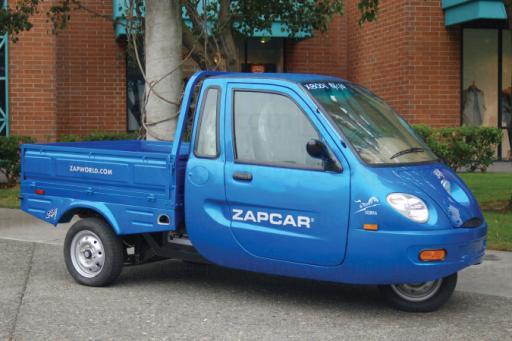 ZAP Electric Car Dealership Opens in Davis, Calif.