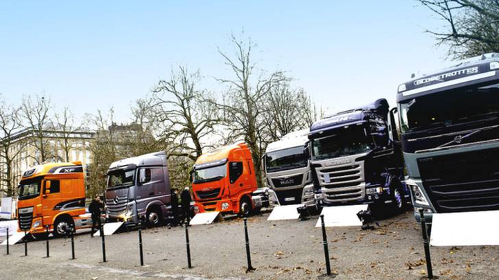 Commercial vehicle registrations were at 212,222 units in the EU in May, which was bolstered by growth in the Spanish and French markets. - Photo courtesy of the European Automobile Manufacturers Association.