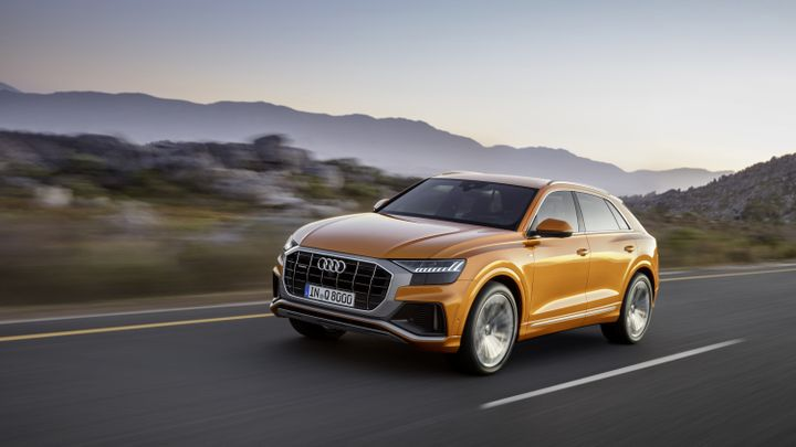 Audi's 2019 Q8 is the brand's new flagship crossover that's wider, shorter, and lower than the Q7.