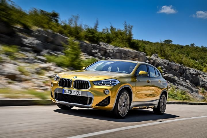 BMW will offer 2019-MY fleet incentives on 14 of its nameplates and its MINI lineup, including its new X2 luxury crossover.  - Photo of 2019 X2 compact crossover courtesy of BMW.