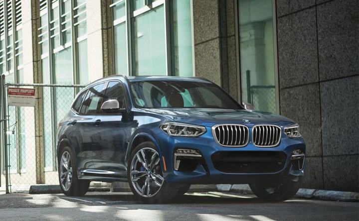 Sensors used in the lane keeping assistant system may not be able to detect when the driver's hands are off the steering wheel. - Photo of the BMW X3 M40i courtesy of BMW.