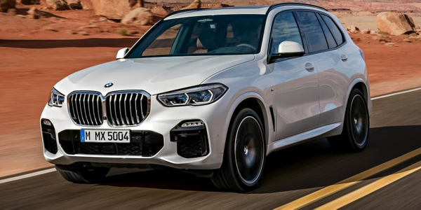 BMW's X5 enters its fourth generation in 2019 as a more spacious, off-road ready luxury midsize...