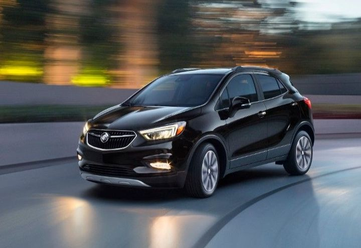 Photo of the Buick Encore courtesy of Buick.