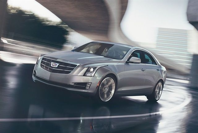 Photo of 2017 Cadillac ATS courtesy of General Motors.