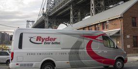 Ryder Orders 500 Chanje Electric Vans