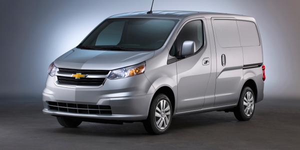 Photo of 2017 Chevrolet City Express courtesy of GM.