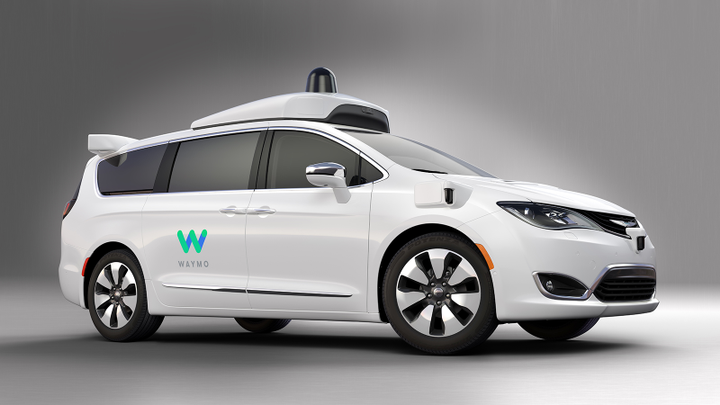 Waymo will purchase another 62,000 Chrsyler Pacifica Hybrid minivans to support its planned autonomous ride-sharing service.  - Photo courtesy of FCA.
