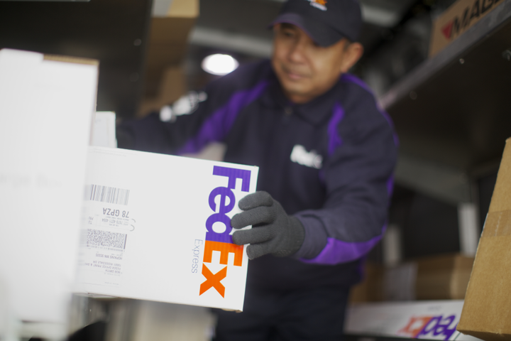 FedEx Express estimates that the electric replacement vehicles will save about 2,500 liters of fuel per vehicle and reduce carbon dioxide emissions by 6.7 tons.  - Photo courtesy of FedEx Express