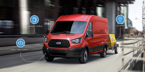 Ford-specific vehicle data will be available through the FleetLocate web and mobile applications...