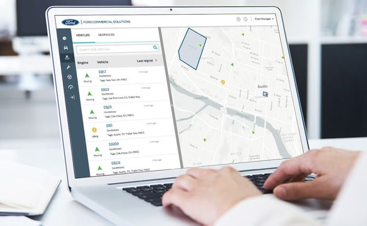 Donlen will offer its fleet customers vehicle data powered by Ford's connected-vehiclebusiness unit.  - Photo courtesy ofFord.