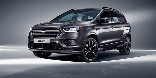 The Ford Escape ST-Line comes standard with Driver Assist Technology such as Smart Keyless...
