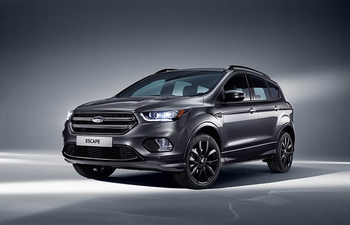 The Ford Escape ST-Line comes standard with Driver Assist Technology such as Smart Keyless Entry, Enhanced Active Park Assist, Adaptive Cruise Control, and more.  - Photo courtesy of Ford