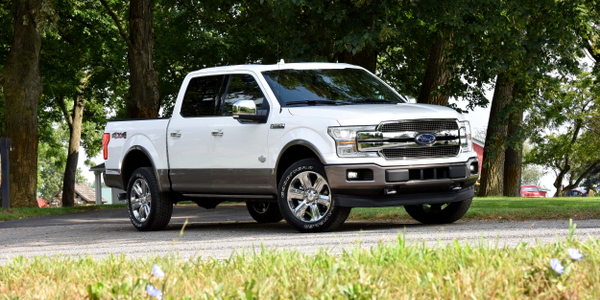 Ford is recalling five of its F-Series trucks, including the 2018 F-150 (shown), for a defect...