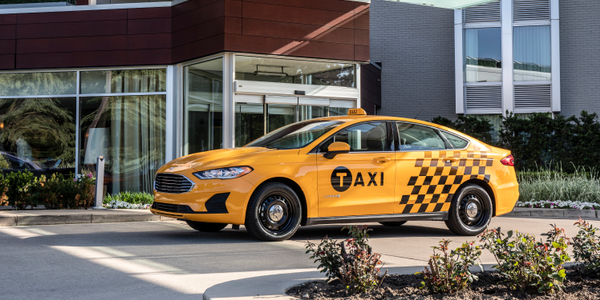 Ford will offer the diesel-powered Transit Connect wagon and a Fusion Hybrid with taxi packages...