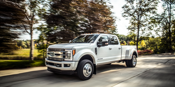 Photo of 2018 F-Series Super Duty Limited courtesy of Ford.
