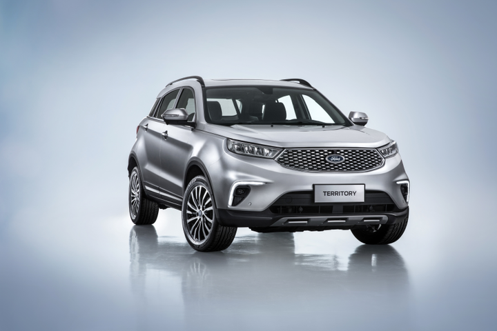 The Ford Territory is slated for release in early 2019.  - Photo courtesy of Ford
