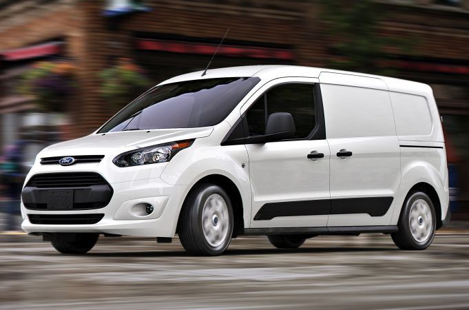 Used compact vans such as the 2016 Transit Connect performed best at auction in May.