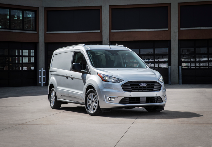 Ford has announced its 2019-model-year fleet incentives, including the 2019 Transit Connect compact cargo van (shown).