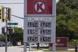 Gasoline Heads Lower to $2.66 Per Gallon
