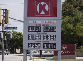 National gasoline prices closed out 2018 by falling lower to $2.26 per gallon.
