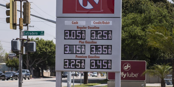 The nation's average gasoline price increased to $2.86 amid increased summer driving demand.
