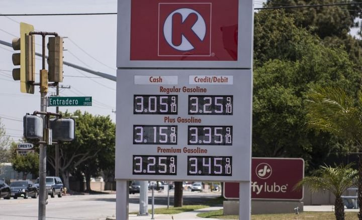 National gasoline prices inched lower following Labor Day, while prices in hurricane-threatened Florida and South Carolina moved higher.