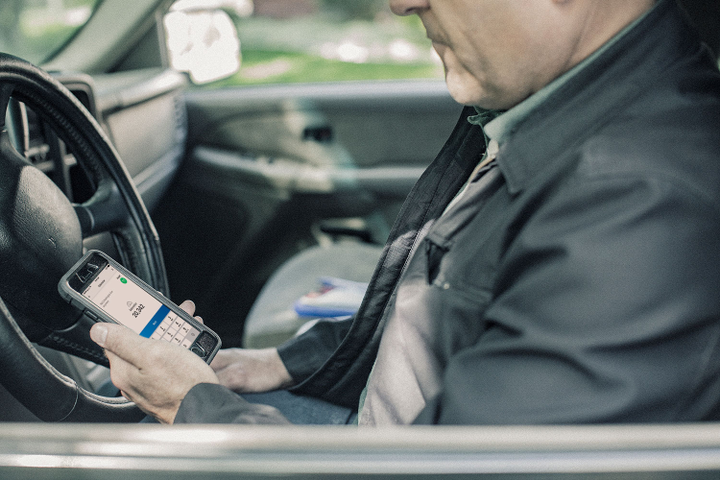 Fleet drivers with WEX fuel cards can now use their mobile devices to pay for fuel at Shell stations.  - Photo courtesy of WEX.
