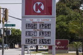 Falling Gasoline Prices Reach $2.85 Per Gallon