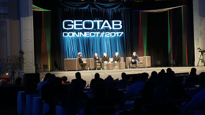 Photo of Geotab Connect 2017 courtesy of Geotab.