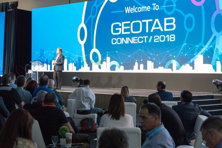 Geotab's co-founder Colin Sutherland told attendees of Geotab Connect that the telematics...