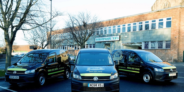 Ringtons has bolstered its fleet with range of new Caddy, Transporter, and Crafter vans
