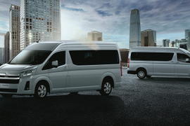 Toyota Updates Light Commercial Van for Global Market