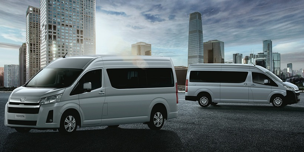 Toyota introduced an updated version of its HiAce light commercial van several global markets,...