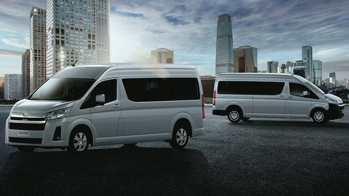 Toyota introduced an updated version of its HiAce light commercial van several global markets, and includes updated safety features and new engines, and is designed for transporting cargo and passenger transportation. - Photo courtesy of Toyota.