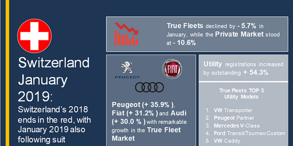Despite the decline, Volkswagen was the strongest manufacturer in the region for January,...