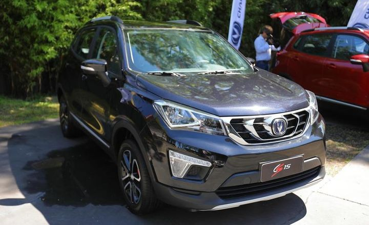 Several variations of the CS15 will be available in Argentina.  - Photo courtesy of Changan.