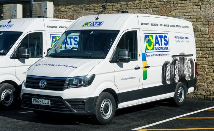 The European-based tire replacement operation signed a deal with Volkswagen Commercial Vehicles for six new converted Volkswagen Crafters ahead of a complete overhaul of its 200-strong fleet.  - Photo courtesy of Volkswagen Commercial Vehicles.