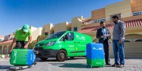 Ford Provides Transit Vans to Dubai Baggage Transport Company