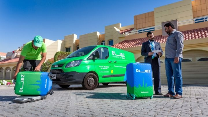 Dubai's baggage innovation company, DUBZ, selected the Ford Transit to power its new home check-in service for international travelers, Ford said. The service allows people from anywhere in Dubai or Sharjah to avoid the airport check-in counter altogether by conducting airport services at home.  - Photo courtesy of Ford.