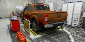 Nissan Tests Frontier for Fleets in South America