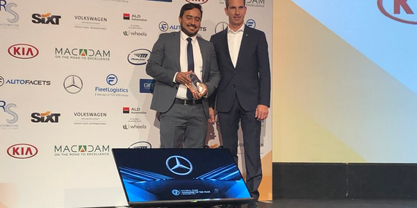 The winner of the 2019 Global Fleet Manager of the Year Award was Almy Sousa Magalhães (left),...