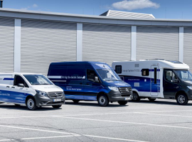 Daimler AG's van division is experimenting with a Sprinter van that's powered by a hydrogen fuel...