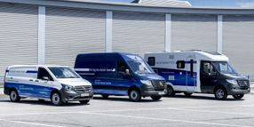 Mercedes-Benz Shows Fuel Cell Sprinter Van