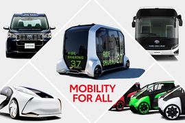 Toyota's 2020 Olympic Games Fleet Focuses on Mobility, Sustainability