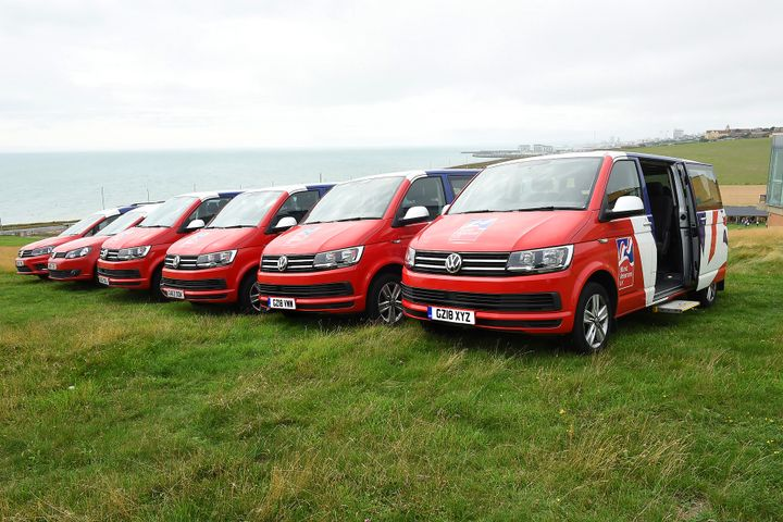 Blind Veterans UK, a UK-based charity that helps blind and vision impaired ex-service personnel, added six new Transporters to its fleet of Volkswagen Commercial Vehicles, according to a company announcement. - Photo courtesy of Volkswagen.