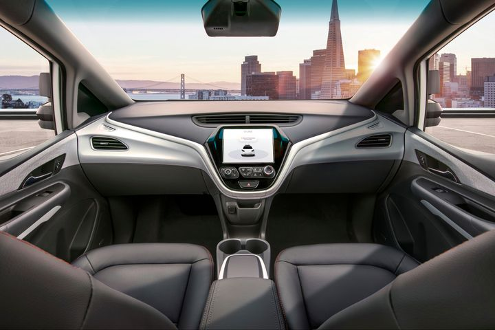 SoftBank's venture fund is investing $2.25 billion in the General Motors autonomous vehicle initiative that the automaker hopes will produce a commercially viable fully autonomous vehicle in 2019.  - Photo courtesy of General Motors.
