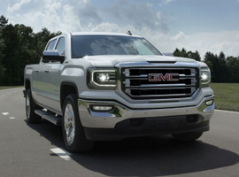 The most and least recalled vehicles have been identified, which include the 2016 GMC Sierra SLT pickup (shown).